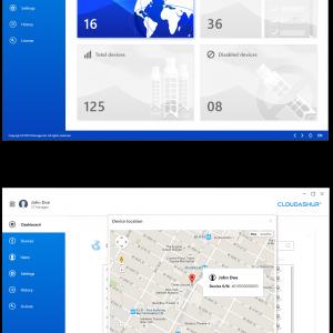 cloudAshur Management Console de iStorage